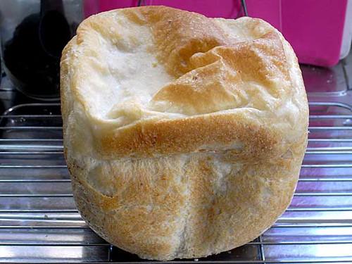 ホームベーカリーで2010年4月18日に作ったパン