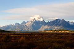 The Teton Range (bhophotos) Tags: travel autumn usa mountains nature sunrise landscape geotagged nikon wyoming tetons grandtetonnationalpark d300 jacksonlake 2470mmf28g jacksonholevalley