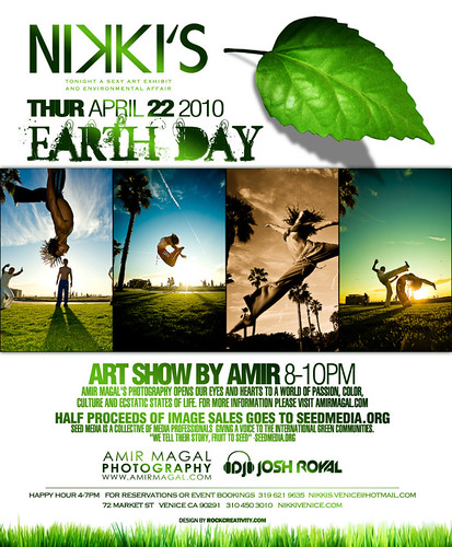 Earth Day at Nikkis