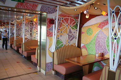 Carnival Spirit - Lido Buffet Booths