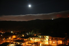 UFO over Brisbane, CA, August 25, 2007 (Andrzej Olszewski) Tags: california usa ufo bayarea sanbrunomountain strangelights