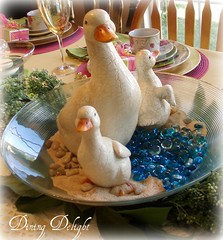 Three Duck Centerpiece