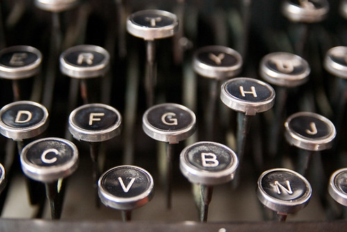 Underwood Typewriter Keys Great Lakes Na by stevendepolo, on Flickr