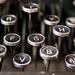 Underwood Typewriter Keys Great Lakes Na by stevendepolo, on Flickr