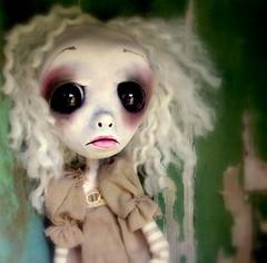 Bethany (loopy boopy) Tags: strange weird doll sad neworleans creepy odd polymerclay artdoll timburton polymer loopyboopy