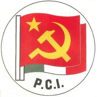 Communism In Italy Flag