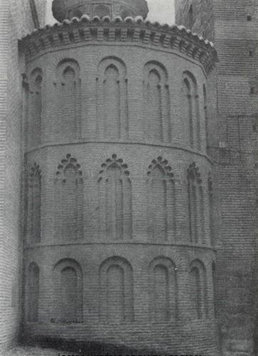 Ábside de la Iglesia de Santa Leocadia tras la restauración de 1966