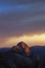 Half Dome at sunset, Yosemite, CA (arbabi) Tags: usa america halfdome yosemitenationalpark seanarbabi