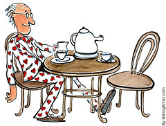 Ready for love (Frits Ahlefeldt, Hiking.org) Tags: old man love senior illustration hearts heart chairs tea drawing cartoon relationship amour dating coffeetable teatime blinddate frits freeillustration seniordating ahlefeldt hikingartistcom