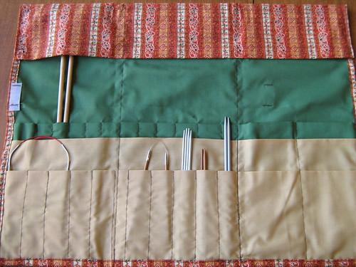 Needle case - top flap