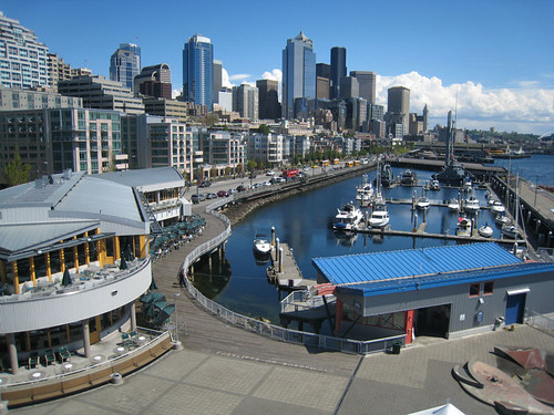 Seattle Waterfront From Pier 66
