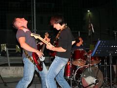 IMG_8727 (walterino1962) Tags: ombre luci asta batteria chitarra microfono basso chitarrista bassista batterista