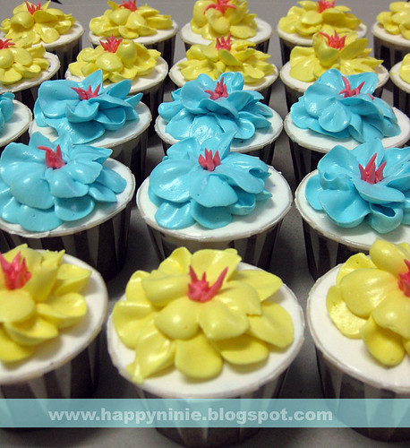 cup cake flower