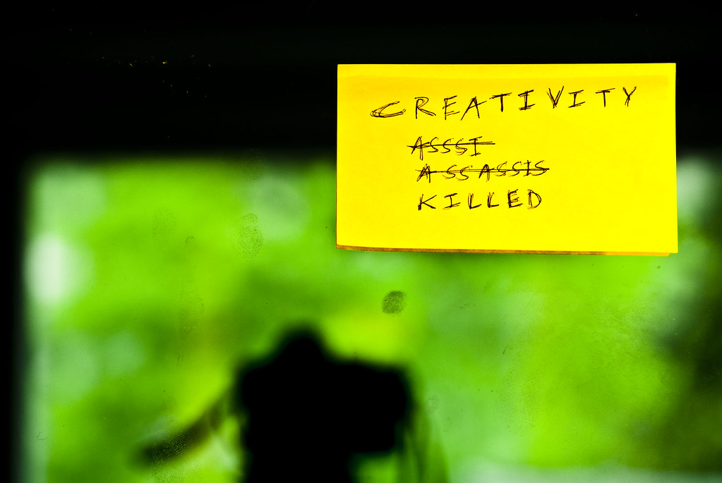Creativity Killed by Anant N S (www.thelensor.tumblr.com)