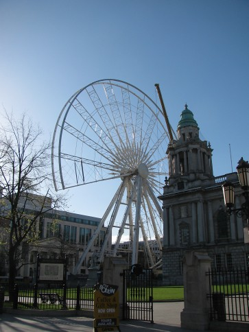 Deconstruction of Belfast Wheel #1
