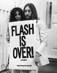 john & yoko - flash is over