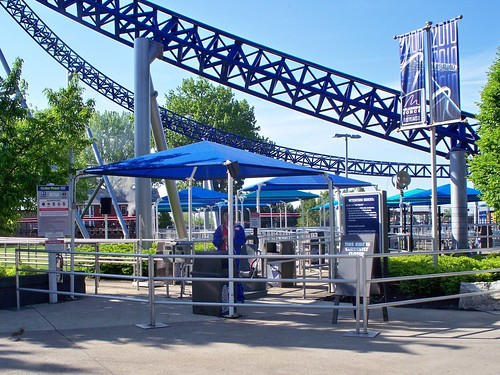 Cedar Point - Millennium Force Entrance