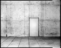 no entry II (christian baron) Tags: urban bw film lines architecture blackwhite bonn graphic geometry grain symmetry minimal sw 4x5 rodinal largeformat fomapan100 bwfilm shenhao classicblackwhite comparon hzx45