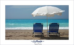 Lefkada (Jacqueline Clowting) Tags: ocean blue sea beach water rock strand blauw zee greece rots griekenland lefkada
