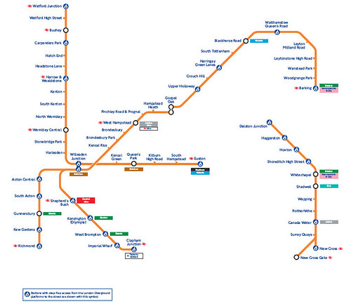 London Overground Service to Shrink on Sunday IanVisits