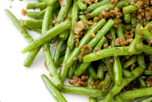 String Beans with Minced Pork 7