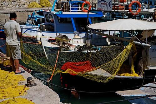 fishermen Iraklio