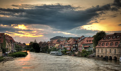 Sunset in Bamberg