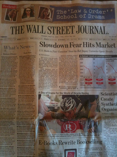 WSJ May 21 front page