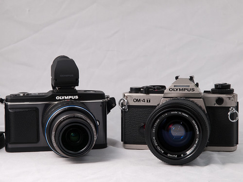 Two Generations of Olympus