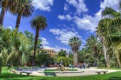 பாண்டானா டீயின் Tritoni, Orto Botanico டி ரோமா, இத்தாலியா