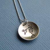 Sweet Hummingbird Necklace