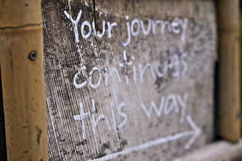 Your Journey Continues This Way