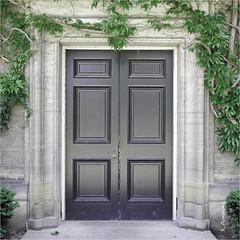 doors to knowledge (Keith.CA) Tags: toronto ontario canada architecture doors stonework universityoftoronto 1924 convocationhall sideentrance simcoehall