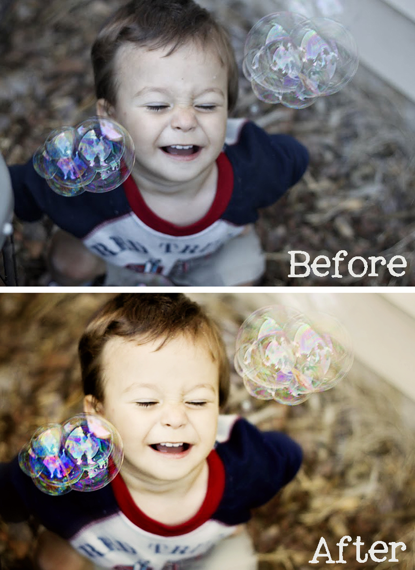 Bubbles Before and After