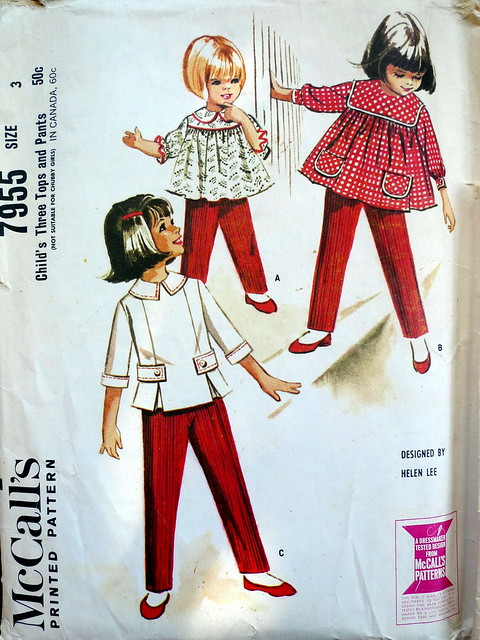 McCall's 7955 Helen Lee pattern from 1965