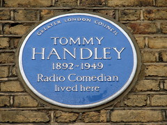 Photo of Tommy Handley blue plaque