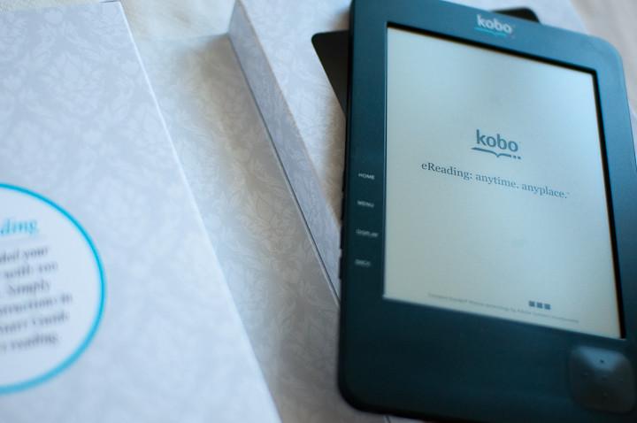 kobo ereading anytime anyplace