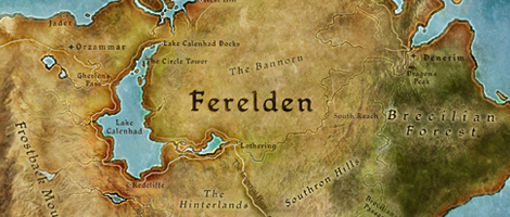 Map of Ferelden