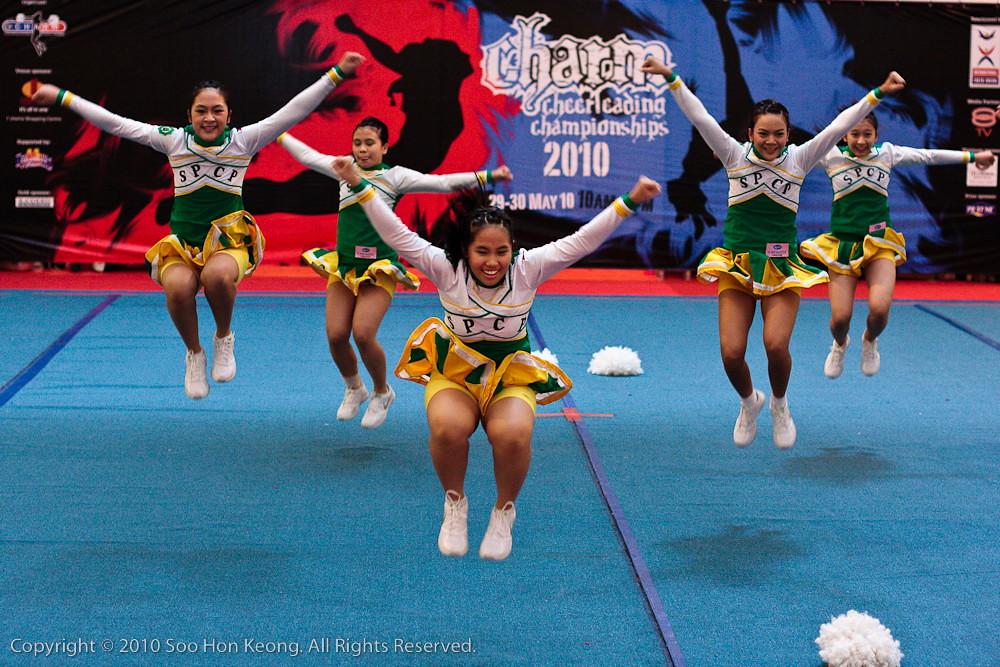 CHARM Cheerleading Championships 2010 @ 1 Utama, KL, Malaysia