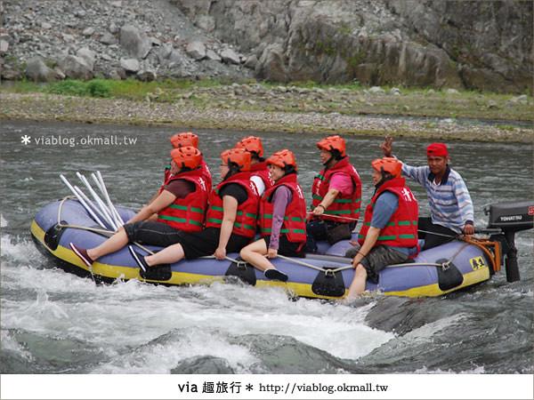 【花蓮旅遊】暑假玩花蓮最消暑的玩法~秀姑巒溪泛舟啦!11