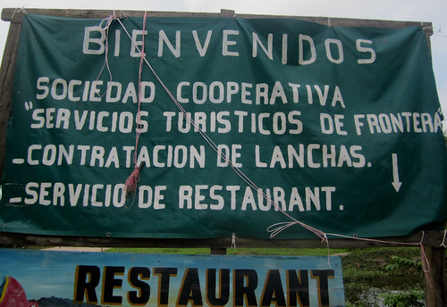 Frontera Corozal 10 - I am starting to really dislike these cooperativa cartells here in Mexico
