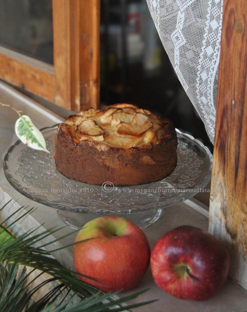 torta nonna papera davanzale