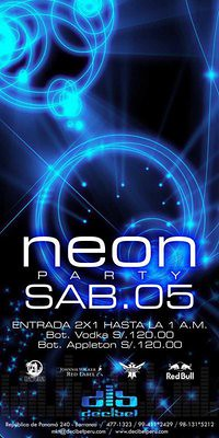 Neon Party - Discoteca Decibel