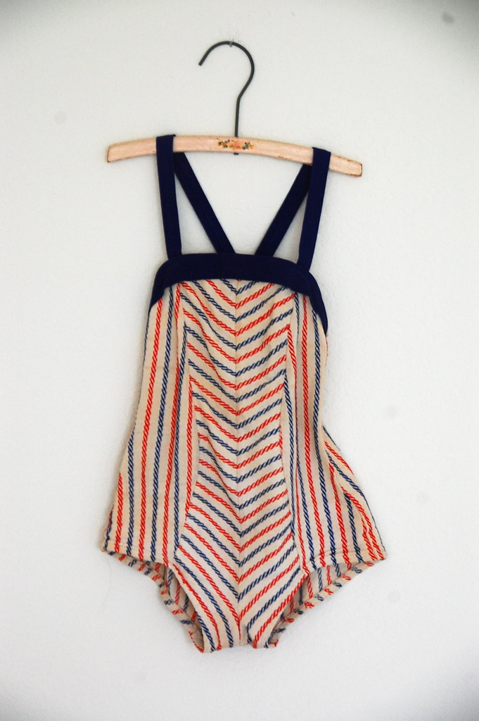 vintage child bathing suit