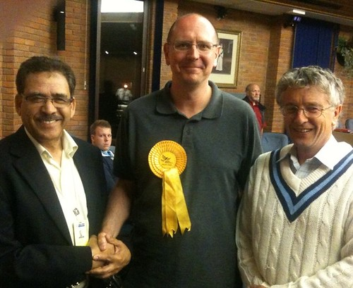 Cllr Andy Grant wins in Ashley ward, St Albans District Council