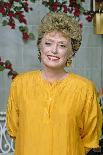 Golden Girl Crush: Blanche Devereaux  - So About What I Said