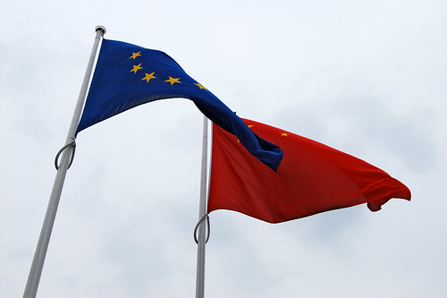 m76 - EU China Flags
