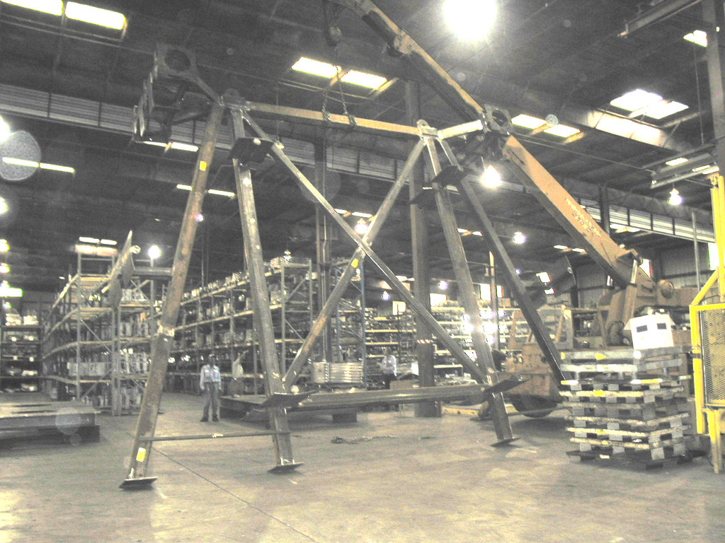 27' x 16' x 21' Structural Frame for an Offshore Site