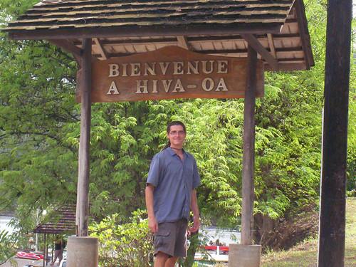 Steven in Hiva Oa