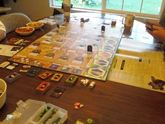 Game night with Arkham Horror.